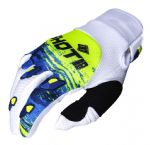 SHOT - Contact Counter Gloves - Blue/Yellow